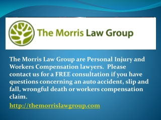 personal injury law attorneys