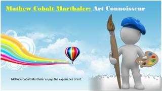 Mathew Cobalt Marthaler