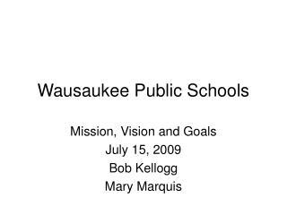 Wausaukee Public Schools