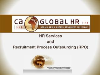 HR Services  and  Recruitment Process Outsourcing RPO