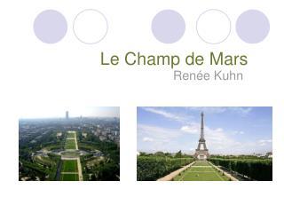 Le Champ de Mars