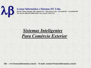 Leonar Inform tica e Sistemas S