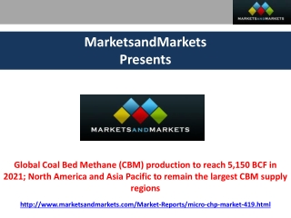Coal Bed Methane Market Forecasts (2011 – 2021)