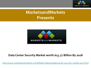 Data Center Security Market worth $13.77 Billion By 2018