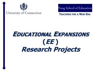 Educational Expansions EE  Research Projects