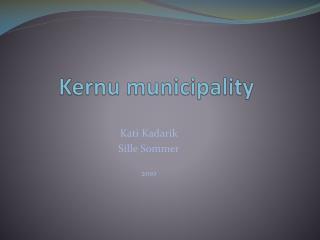 Kernu municipality