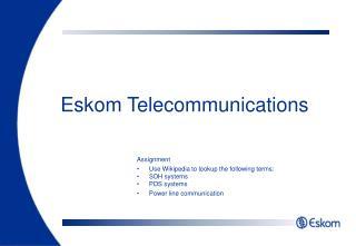 Eskom Telecommunications