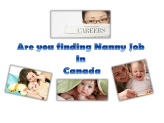 Nanny jobs in Edmonton, Calgary