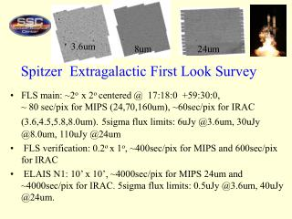 Spitzer  Extragalactic First Look Survey