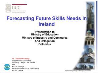 forecasting future skills needs in ireland