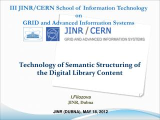 Technology of Semantic Structuring of the Digital Library Content