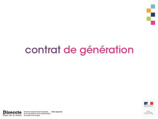 Le contrat de g n ration  issu d un accord unanime des partenaires sociaux