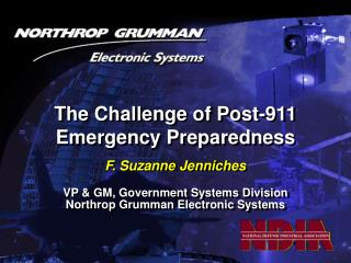 The Challenge of Post-911 Emergency Preparedness