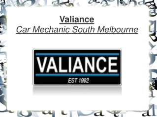 Car Service Mechanic In South Melbourne