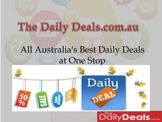 The daily deals Sydney