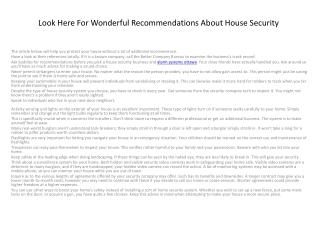 ottawa home security