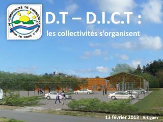 D.T   D.I.C.T : les collectivit s s organisent