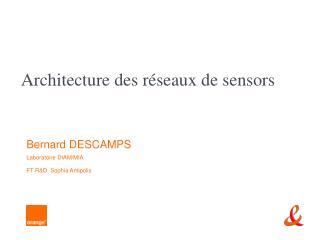 Architecture des r seaux de sensors