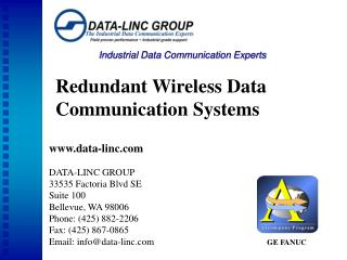 Industrial Data Communication Experts