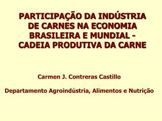 participa  o da ind stria de carnes na economia brasileira e mundial -cadeia produtiva da carne