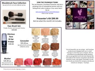 You are beautiful; you are unique - and Younique products were designed with you in mind Younique is more than just a co