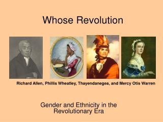 Whose Revolution