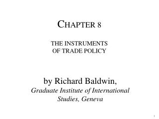 By Richard Baldwin,  Graduate Institute of International Studies, Geneva