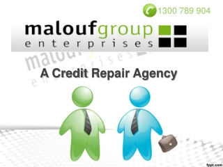 Malouf Group Enterprises - A Credit Repair Agency