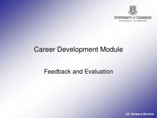 Career Development Module