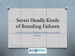 Branding Solutions - Accuprosys