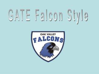 GATE Falcon Style
