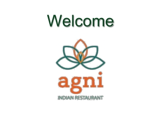 Agni Indian Resaturant - Take Away Menu