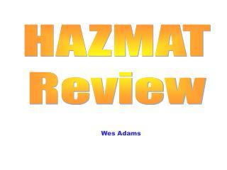 hazmat review