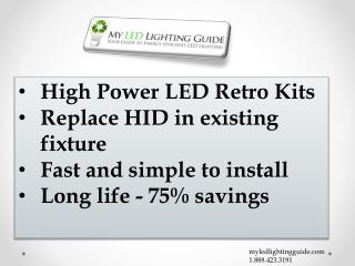 LED Retroft Kits