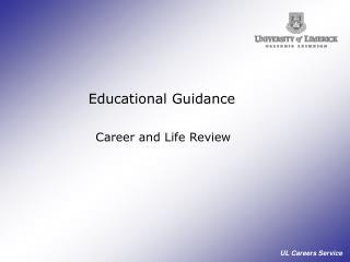 Educational Guidance