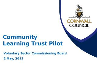 Community  Learning Trust Pilot