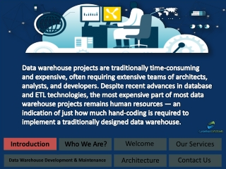 data warehouse design, data warehousing concepts, agile data