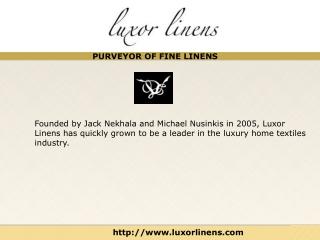 Luxor Linens