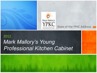 2012 Mark Mallory s Young Professional Kitchen Cabinet