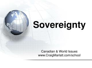 Sovereignty Slideshow