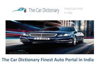 The Car Dictionary, Car Dictionary, Used Luxury Cars, Used A