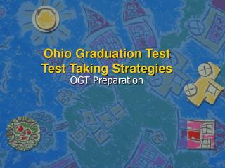 ohio graduation test  test taking strategies