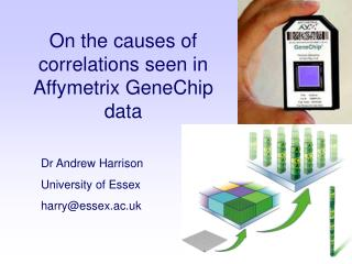 Dr Andrew Harrison University of Essex harryessex.ac.uk