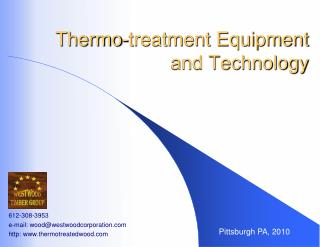 Thermo-treatment Equipment and Technology