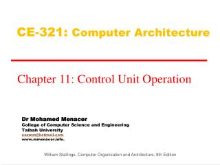Dr Mohamed Menacer College of Computer Science and Engineering Taibah University eazmmhotmail mmenacer.