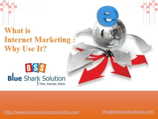 What is Internet Marketing - Why use it