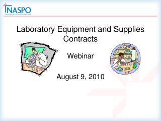 laboratory equipment and supplies contracts