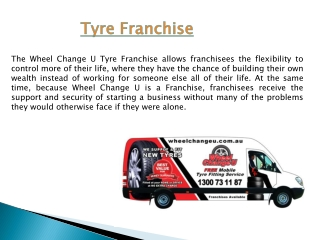 Tyre Franchise