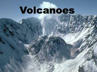 A volcano is a mountian that forms when molten rock magma is forced to the earth s surface