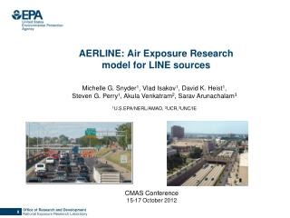 AERLINE: Air Exposure Research model for LINE sources